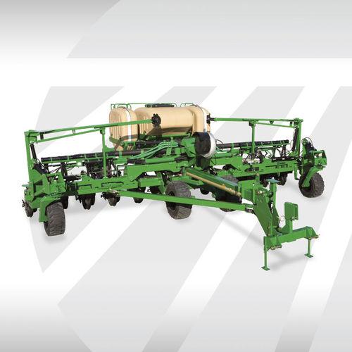 hopper planter / depth control / narrow row / twin-row