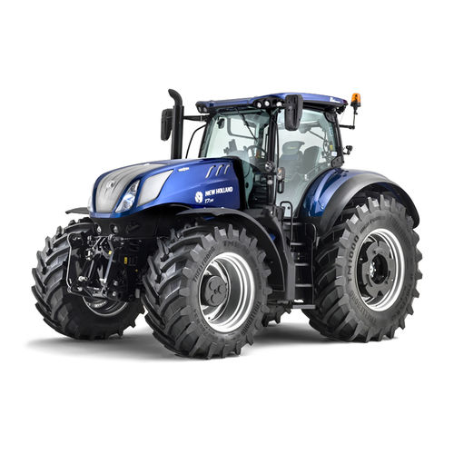 continuously variable tractor / front PTO / compact / with front-loader