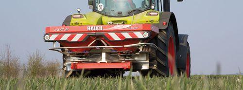 Mounted fertilizer spreader AXIS M 20.2 EMC Series RAUCH Landmaschinenfabrik GmbH