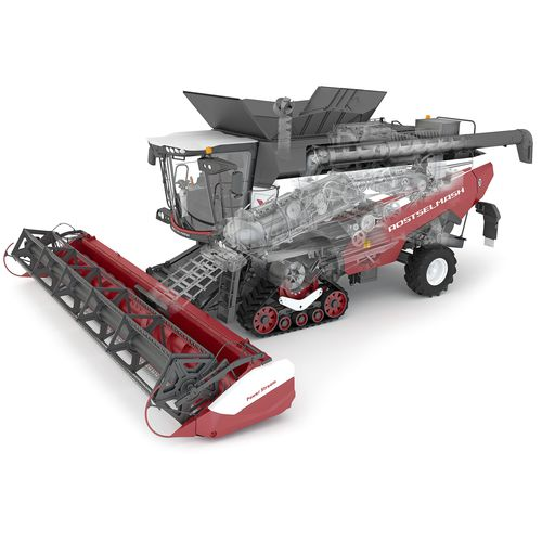grain combine harvester / drum threshing