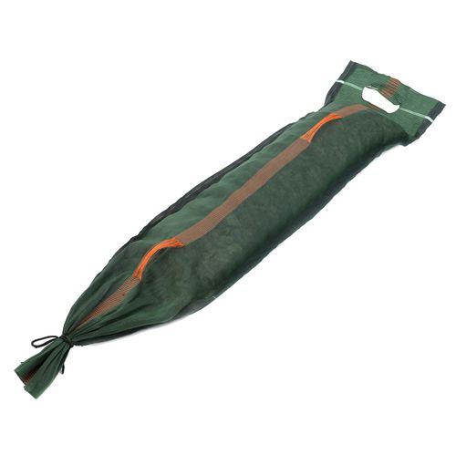 silo bag with closing fastener / grain