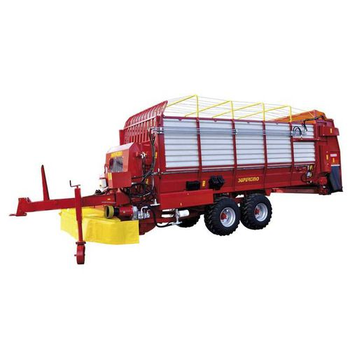 dump trailer / single-axle / 2-axle / silage