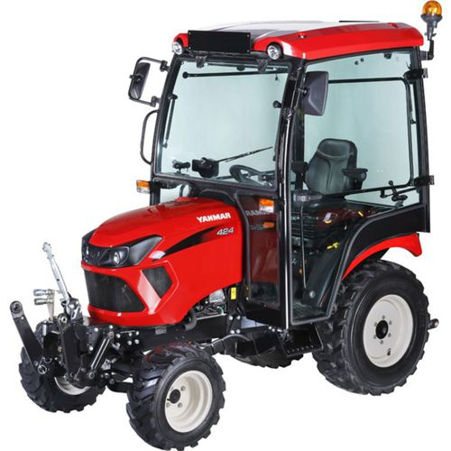 sub-compact tractor / hydrostatic / compact / with cab