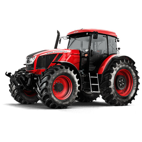 mechanical transmission tractor / with cab / 3-point hitch