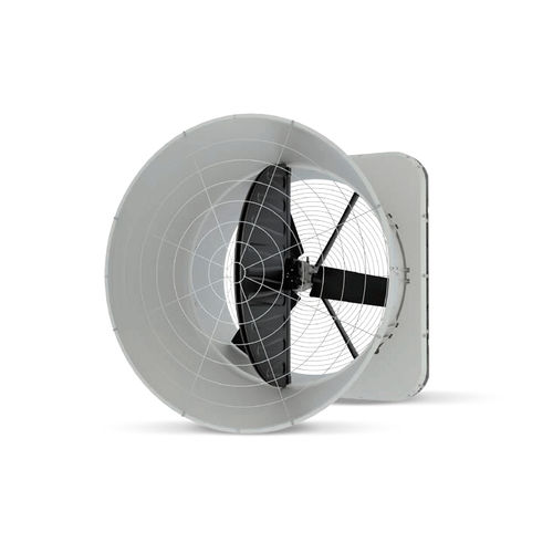 stable fan / extraction / wall-mounted / axial