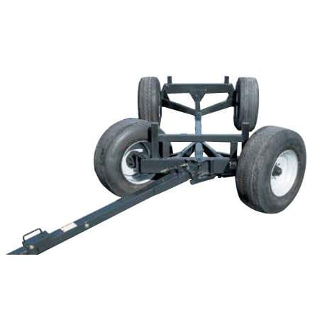 flatbed trailer / 2-axle / equipment