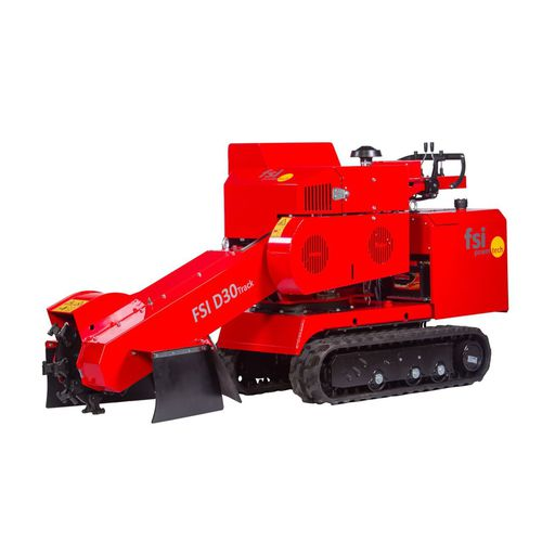 vertical stump grinder / walk-behind / diesel engine / crawler