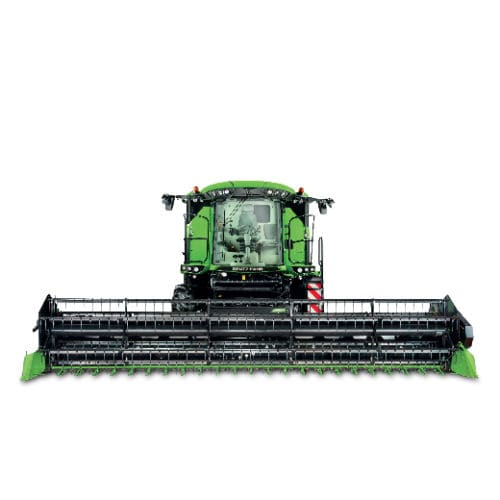 grain combine harvester / drum threshing / straw walker