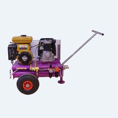 air compressor / on casters / with combustion engine