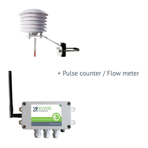 magnetic flow meter / irrigation / for wastewater / for milk