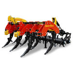 5-shank subsoiler / 7-shank / 3-point hitch / with roller