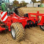 mounted stubble cultivator / with disk harrow / soil loosening / fixed