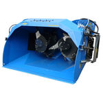 silage unloading shovel bucket / mixer / with distributor