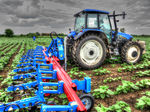 mounted row crop cultivator / with camera / with guiding system