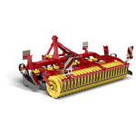 trailed disc harrow / 3-point hitch