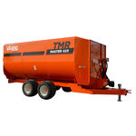 vertical feed mixer / trailed / feeding / 2-auger