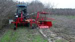 arboriculture rotary cutter / rear-mount / PTO-driven