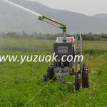 irrigation hose traveler / turbine-drive