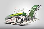 rice transplanter / 4-row / walk-behind