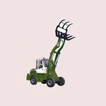 loader with cab / compact / articulated