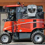 self-propelled grape harvester / with bow rod shaker