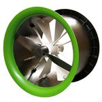 farm building fan / extraction / wall-mounted / axial
