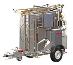 Cow cattle crush / hydraulic / hoof-care / mobile SA0061 RS Wopa B.V.