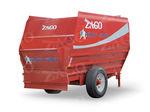 horizontal mixing wagon / trailed