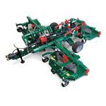 landscaping rotary cutter / PTO-driven / with roller conditioner