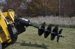 hydraulic earth auger