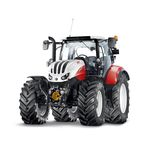 power-shift tractor / with cab / front PTO / forestry