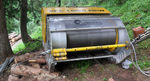 cable winch / for log skidding / forestry / hydraulic drive