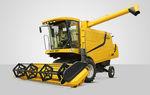 grain combine harvester / sunflower / soybean / drum threshing