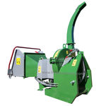 mounted wood chipper / PTO-driven / hydraulic