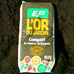 organic amendment / for root / compost / manure