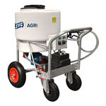 milk cart with mixer