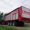 dump trailer / 3-axle / silage / moving floor