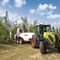 narrow tractor / power-shift / arboriculture / with cab
