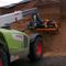 tractor-mounted silage cutter