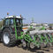 tractor-mounted precision seed drill / double-disc / with fertilizer applicator / no-till