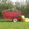 cutter wagon / single-axle / silage / self-loading