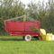 dump trailer / single-axle / silage / self-loading