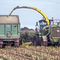 2-axle trailer / agricultural / silage / tipping