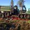 flatbed trailer / 3-axle / forestryNC Engineering Ltd.