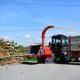 PTO-driven wood chipper / tractor-mounted / hydraulic