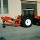 tractor-mounted stump grinder / PTO-driven / with drill