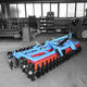 mounted field cultivator / tractor-mounted / 3-point hitch / with disk harrow