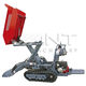 front-loading mini dumper / crawler / diesel / gasoline