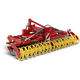 mounted disc harrow / 3-point hitch