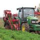carrot harvester / tractor-mounted / single-row